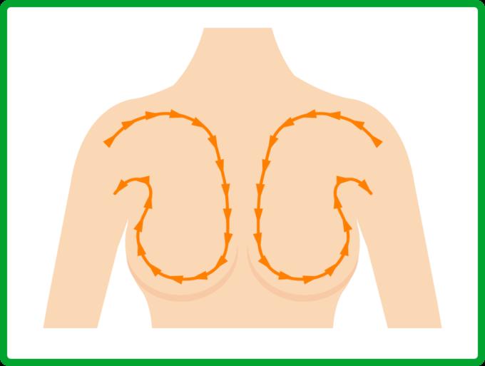 リンパや血液循環の促進のイメージ