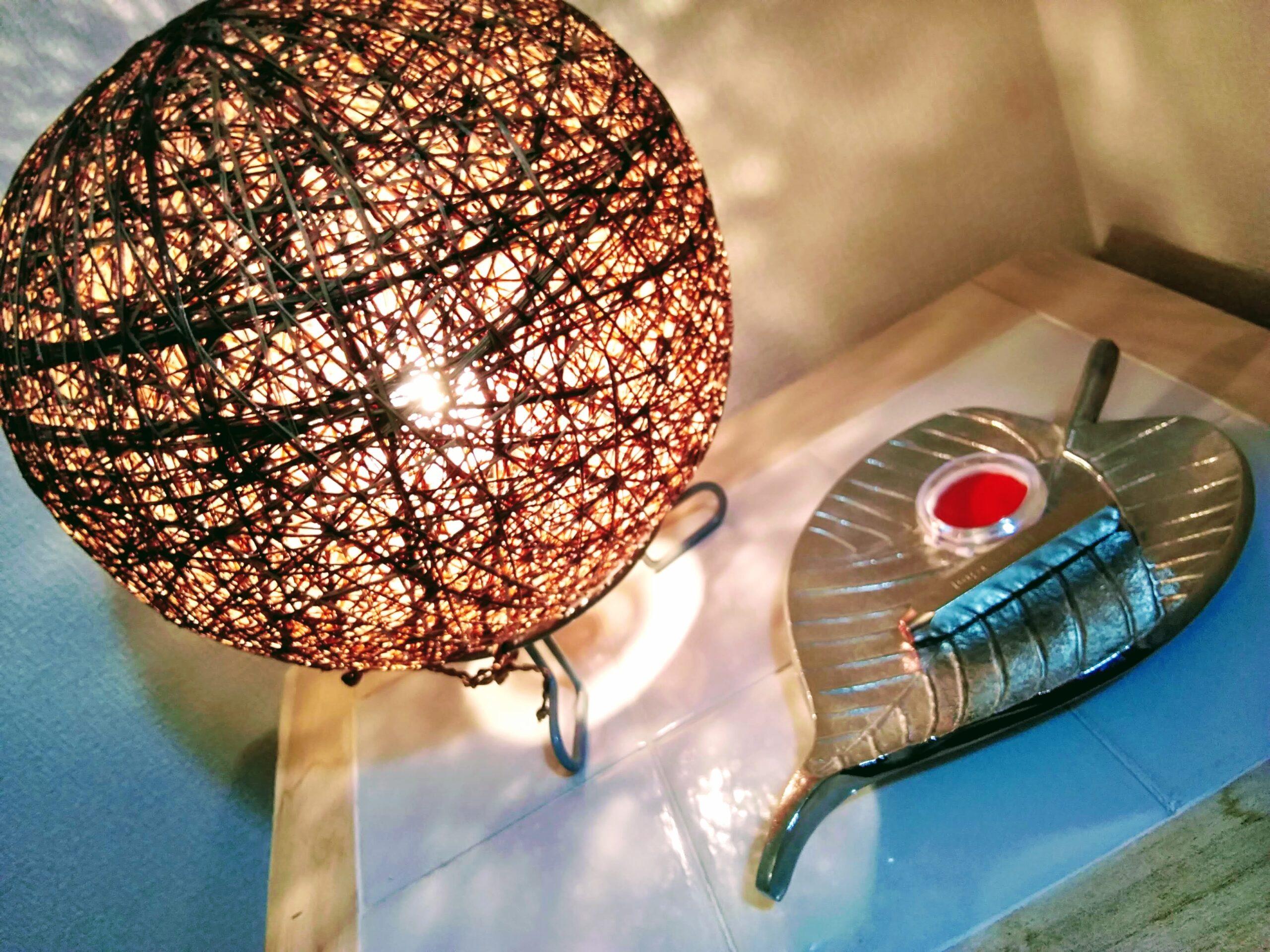 施術室ランプ